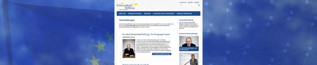 Schwarzkopf Stiftung Junges Europa